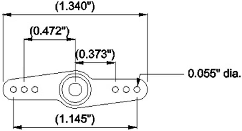 Standard Double Arm (C24T Spline)