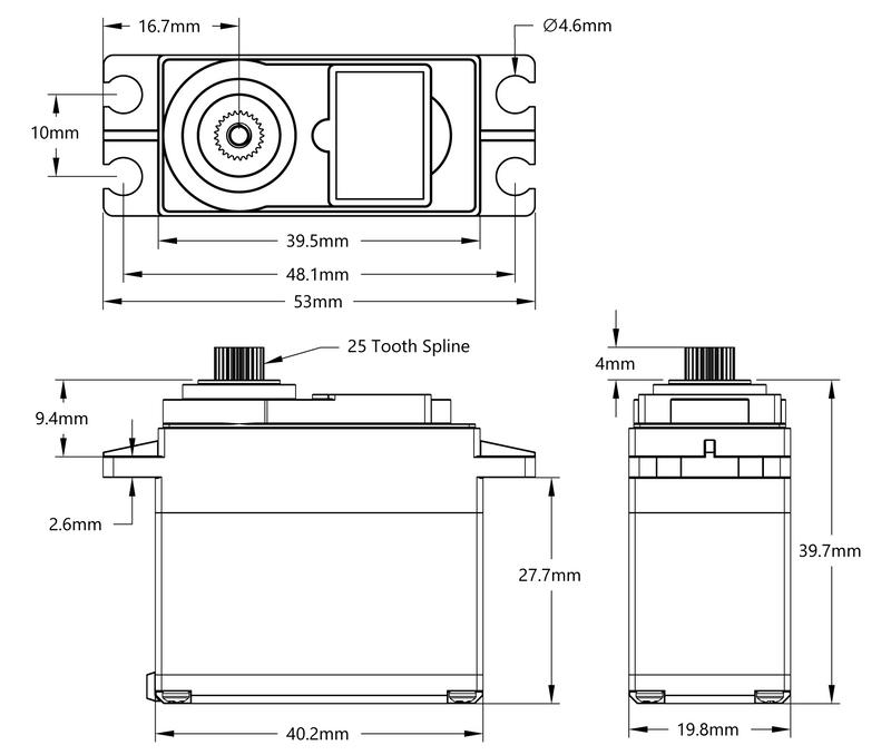 HS-488HB Schematic