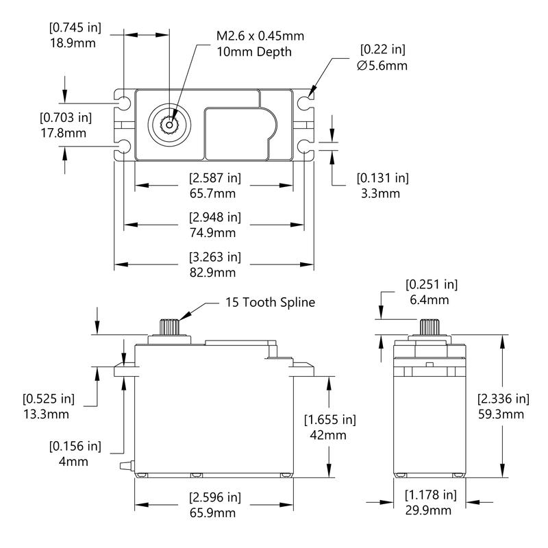 HS-5805MG Schematic