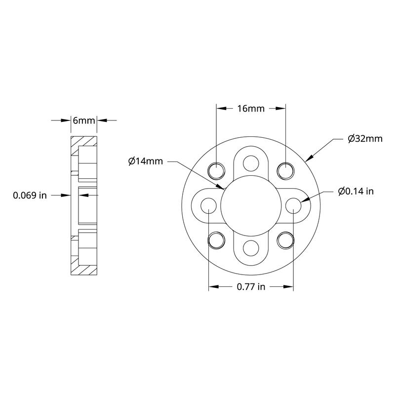 1206 Series Pattern Adaptor (16-2)
