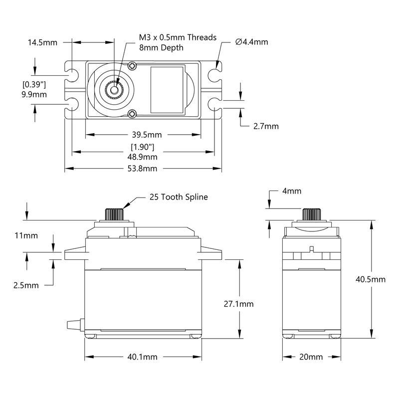 HSR-M9382TH Servo Schematic
