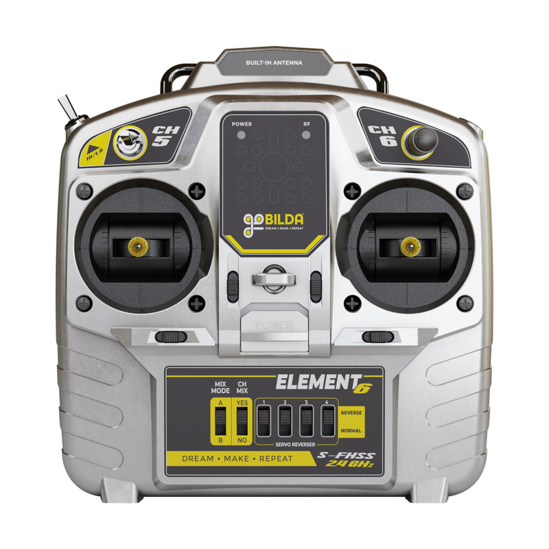 3113-2006-0001 - Element-6 Radio Control System (Mode 2)