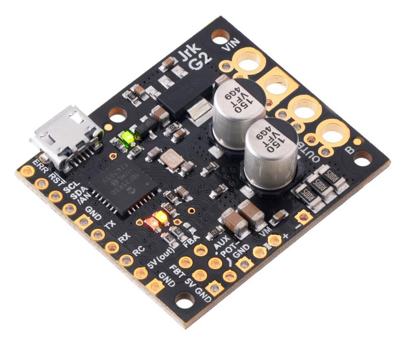 Jrk G2 18v19 USB Motor Controller with Feedback