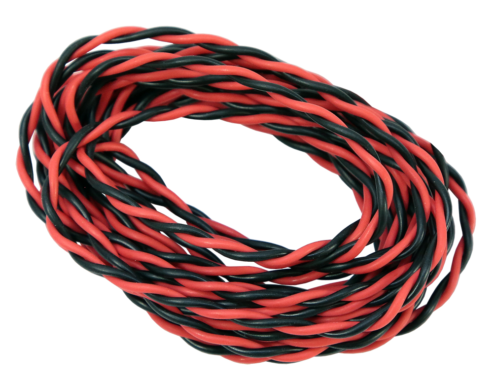 22 AWG, 2 Conductor Twisted Wire