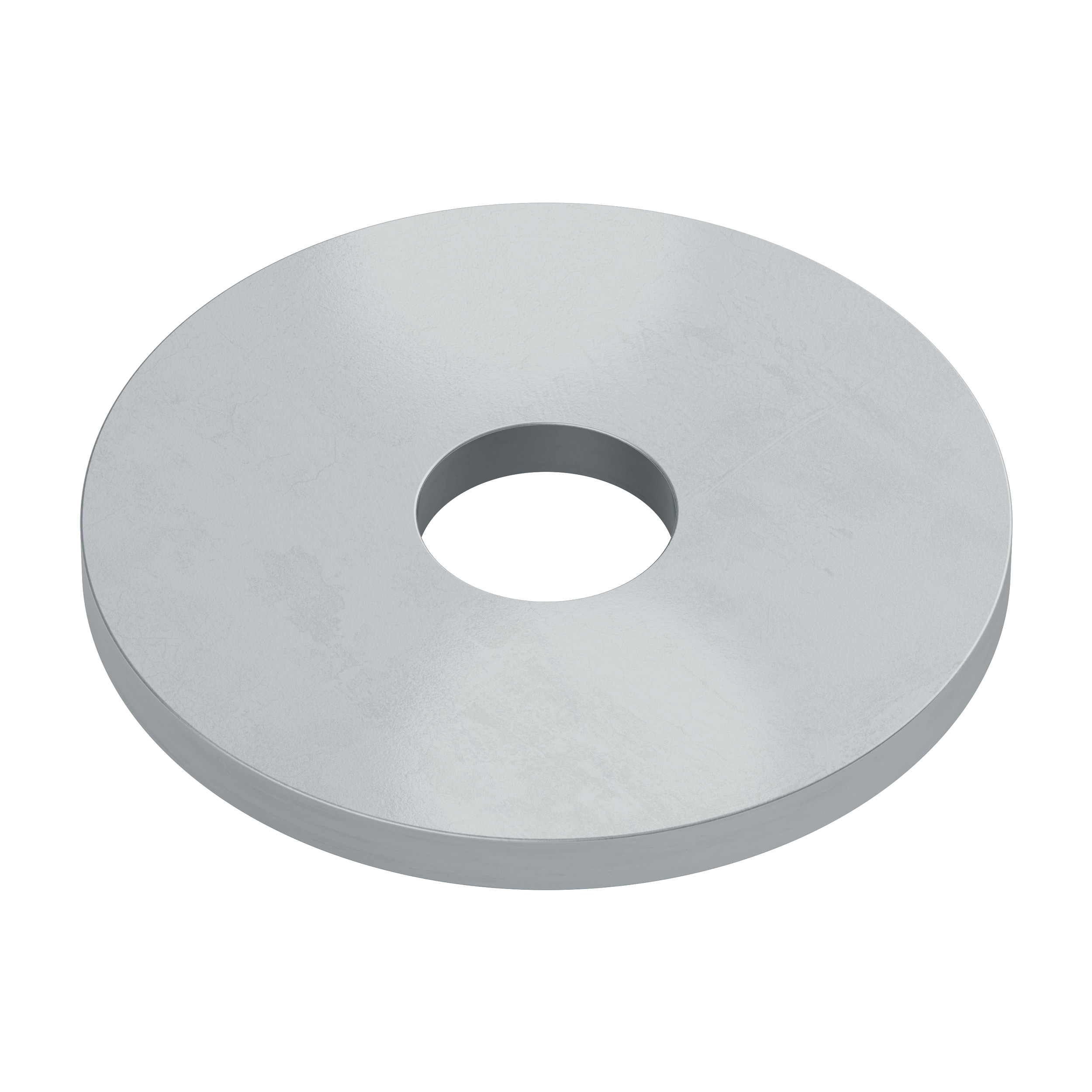"""#6 Zinc-Plated Oversized Washer (0.156"""" ID x 0.562"""" OD) - 6 Pack"""