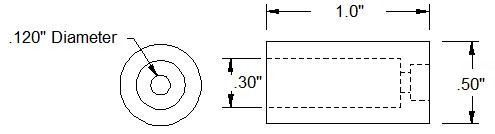Servo Shaft Attachment schematics