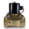 "2"" 24V DC Electric Brass Solenoid Valve"