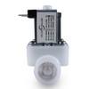 1/2'' 24V DC Electric Plastic Solenoid Valve N/O