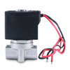 "1/4"" 12V DC Stainless Electric Solenoid Valve"