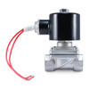 "1/2"" 24V AC Stainless Electric Solenoid Valve"