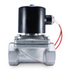 "1-1/2"" 24V AC Stainless Electric Solenoid Valve"