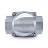 """1-1/2"""" 110V AC Stainless Steel Solenoid Valve N/O"""