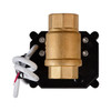 "1/2"" Brass Electric Ball Valve - 2 Wire Auto Return"