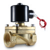 "1"" 110V AC Electric Brass Solenoid Valve"