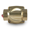 "1-1/4"" 110V AC Electric Brass Solenoid Valve"