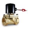 "1-1/2"" 110V AC Electric Brass Solenoid Valve"
