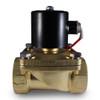 "2"" 110V AC Electric Brass Solenoid Valve"