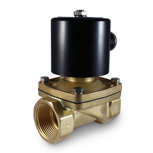 "1-1/4"" 12V DC Electric Brass Solenoid Valve"