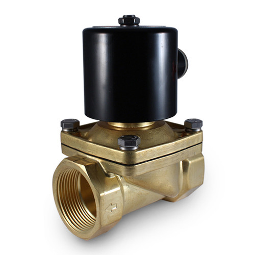 "1-1/2"" 24V DC Electric Brass Solenoid Valve"