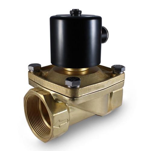 "2"" 24V DC Electric Brass Solenoid Valve"