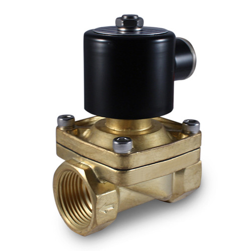 "1"" 24V AC Electric Brass Solenoid Valve"