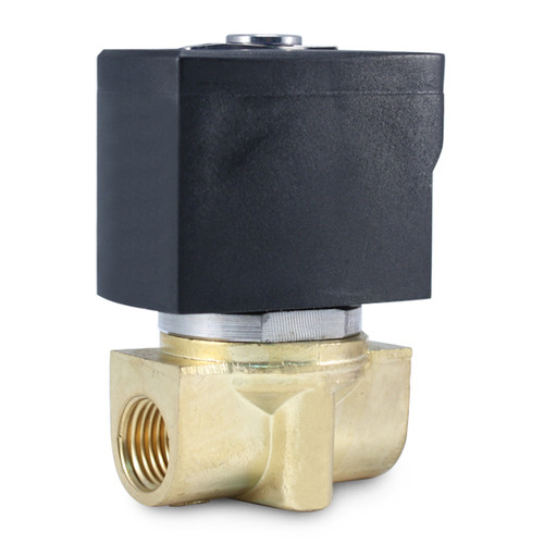 "1/4"" 24V AC Electric Brass Solenoid Valve"