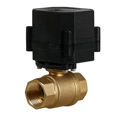 "3/4"" Brass Electric Ball Valve - 3 Wire"