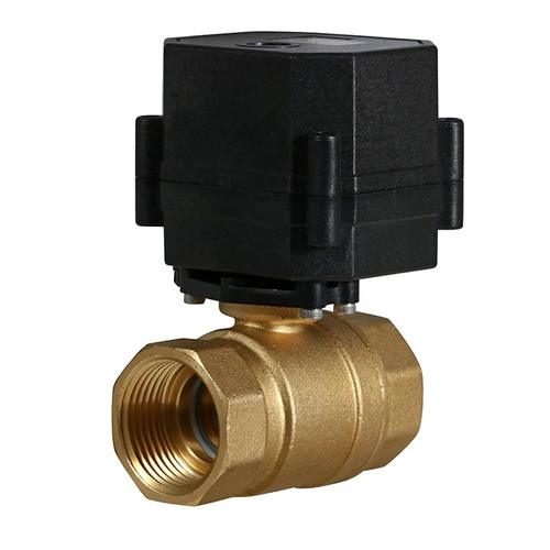 "1"" Brass Electric Ball Valve - 3 Wire"