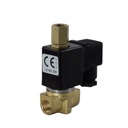 1/4'' 3-Way 24V DC Electric Solenoid Valve