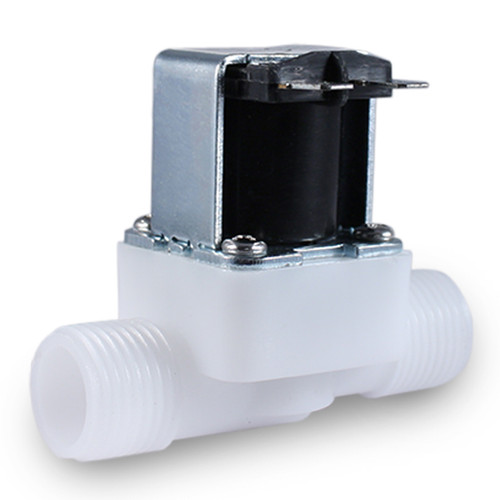 Heschen Brass Electric Solenoid Valve 1//2 Inch AC 220V Direct action Water Air Gas Normally Closed Replacement Valve