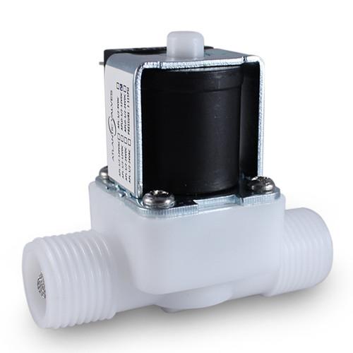 1/2'' 12V DC Electric Plastic Solenoid Valve N/O