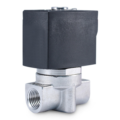 """1/4"""" 110V AC Stainless Electric Solenoid Valve"""