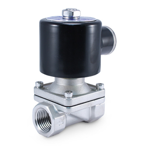 """1/2"""" 110V AC Stainless Electric Solenoid Valve"""