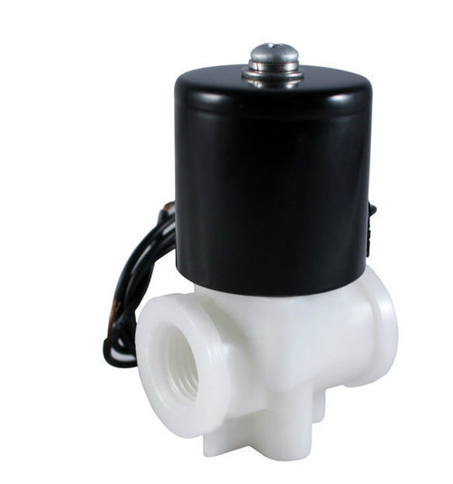 "1//4/"" Anti Corrosion Salt Water Acid Resistant Electric Solenoid Valve 24V DC NC"