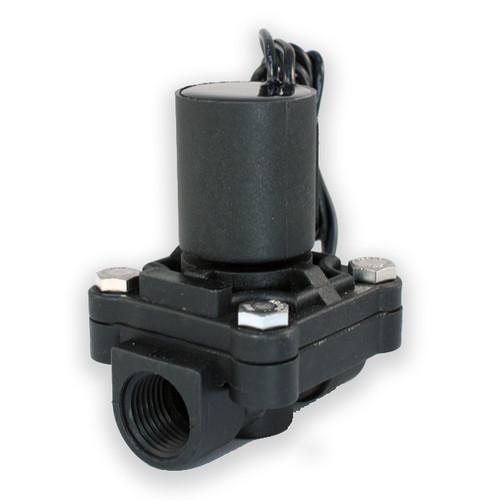 """1/2"""" FNPT 24V DC Electric Plastic Solenoid Valve"""