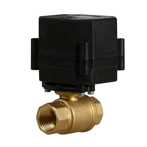 "1/2"" Brass Electric Ball Valve - 3 Wire"