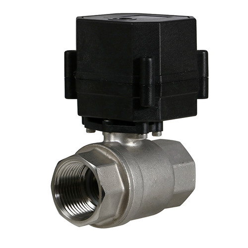 "1"" Stainless Electric Ball Valve - 2 Wire Auto Return"