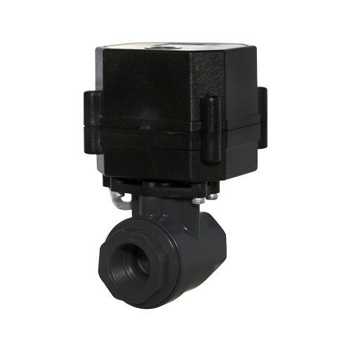"1/2"" UPVC Electric Ball Valve - 3 Wire"