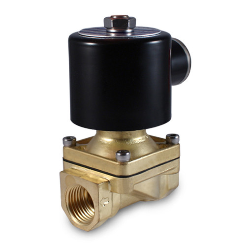 "1/2"" 24V DC Electric Brass Solenoid Valve"
