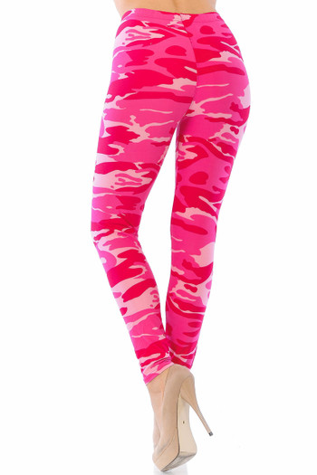 Wholesale - Buttery Soft Pink Camouflage Leggings