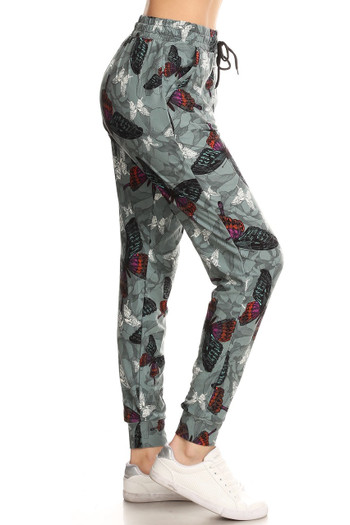 Wholesale - Buttery Soft Gorgeous Butterfly Joggers
