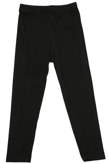 Wholesale - Buttery Soft Solid Basic Kids Leggings