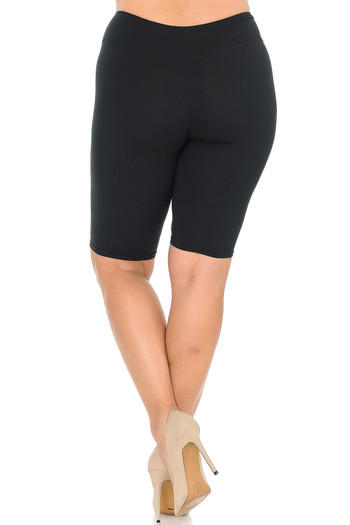 Wholesale - Buttery Soft Basic Solid Shorts - Plus Size - 3 Inch