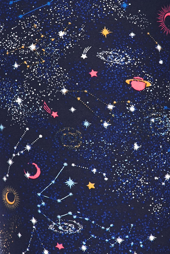 Wholesale - Buttery Soft Space Constellation Kids Leggings