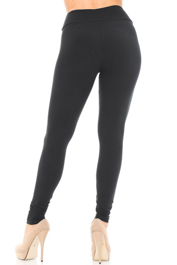 Wholesale - Buttery Soft Basic Solid High Waisted Leggings - EEVEE - 3 Inch