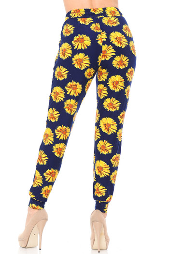 Wholesale - Buttery Soft Summer Daisy Joggers