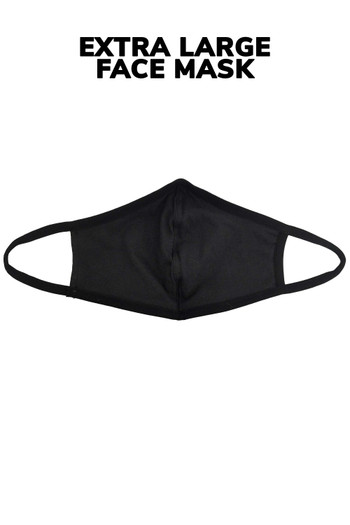 Wholesale - Extra Large Unisex Cotton Face Mask with PM2.5 Filter Pocket - Made in USA