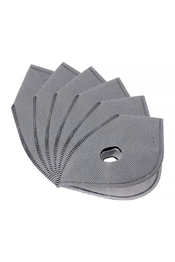 Wholesale - 5 Pack - Activated Carbon Face Mask Filters PM2.5
