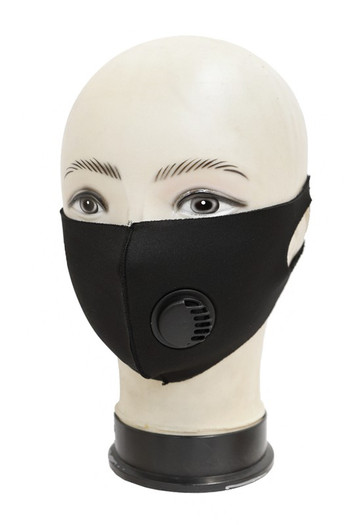 Wholesale - Reusable Single Ply Face Masks - Air Valve - Individually Wrapped