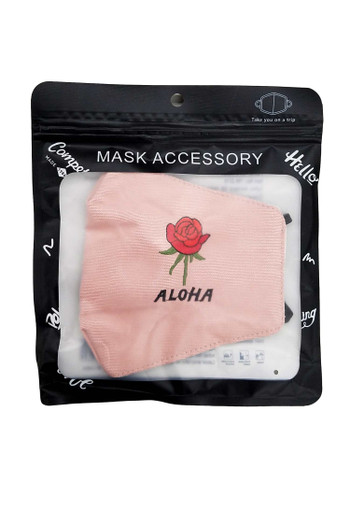 Wholesale - Aloha Rose Face Mask with Air Valve